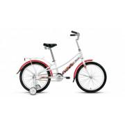 """Велосипед FORWARD AZURE 20"""" 10,5 белый"""