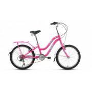 """Велосипед FORWARD EVIA 20"""" 10,5 розовый"""
