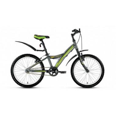 "Велосипед FORWARD COMANCHE 1.0 20"" 10,5 серый мат"