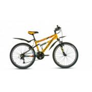 """Велосипед FORWARD EDGE 1.0 24"""" 14,5 желтый/черный мат"""
