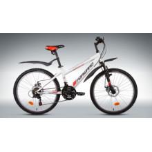 "Велосипед FORWARD TITAN 3.0 disc 24"" 14 белый мат"