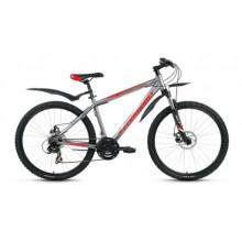 "Велосипед FORWARD APACHE 2.0 26"" 15 disc серый мат"