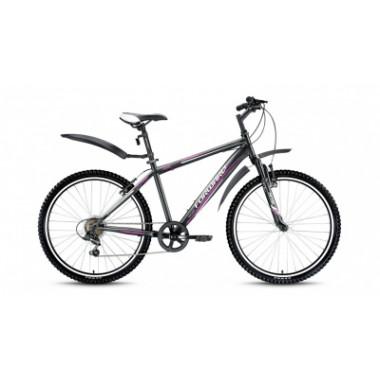"""Велосипед FORWARD FLASH 2.0 26"""" 13,5 черный мат"""