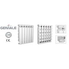 Алюминиевые радиаторы Nova Florida GENIALE 500/80 6 секций